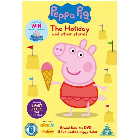 Peppa Pig: The Holiday and Other Stories DVD Entertainment One X000AT29O9
