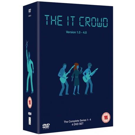 The IT Crowd : Series 1-4 DVD Box Set 2entertain 5014138605643