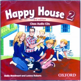 Happy House 2 Third Edition Class Audio CDs