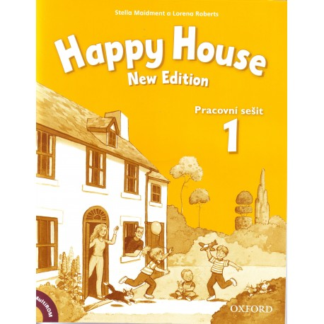 Happy House New Edition 1 Activity Book Czech Edition