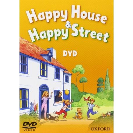 New Happy House / Happy Street DVD Oxford University Press 9780194003742