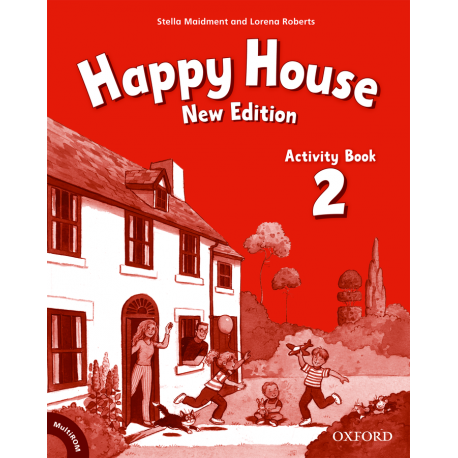 Happy House New Edition 2 Activity Book + MultiROM Oxford University Press 9780194730341