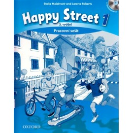 Happy Street 1 Third Edition Activity Book Czech Edition + Audio CD