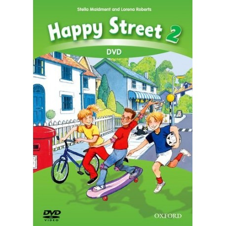 Happy Street 2 Third Edition DVD Oxford University Press 9780194751612