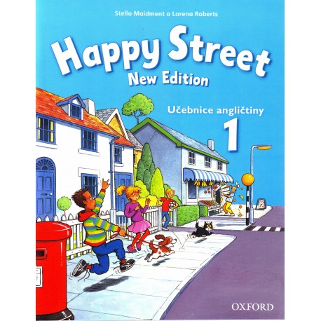 Happy Street New Edition 1 Class Book Czech Edition Oxford University Press 9780194751063