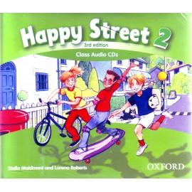 Happy Street 2 Third Edition Class Audio CDs