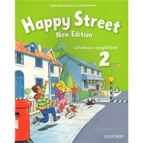 Happy Street New Edition 2 Class Book Czech Edition Oxford University Press 9780194751070