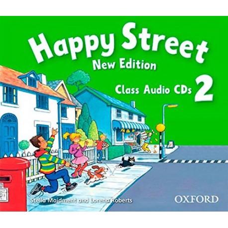 Happy Street New Edition 2 Class CDs Oxford University Press 9780194730914
