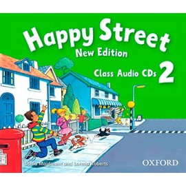 Happy Street New Edition 2 Class CDs