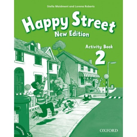Happy Street New Edition 2 Activity Book + MultiROM Oxford University Press 9780194730921