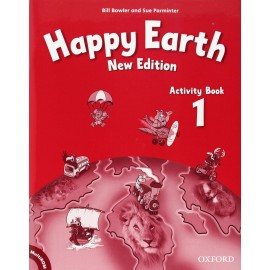 Happy Earth New Edition 1 Activity Book + MultiROM