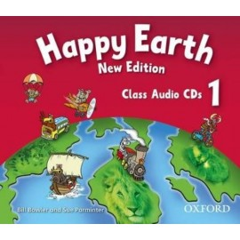 Happy Earth New Edition 1 Class CDs