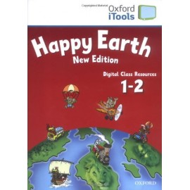 Happy Earth New Edition 1-2 iTools CD-ROM