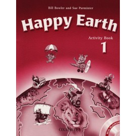 Happy Earth 1 Activity Book + MultiROM