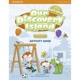 Our Discovery Island Starter Activity Book + CD-ROM