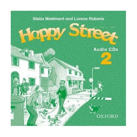 Happy Street 2 Audio CDs Oxford University Press 9780194317689