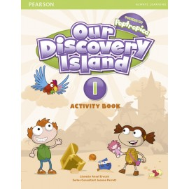 Our Discovery Island Level 1 Activity Book + CD-ROM