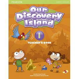 Our Discovery Island Level 1 Teacher's Book + Access Code