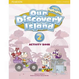 Our Discovery Island Level 2 Activity Book + CD-ROM