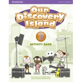 Our Discovery Island Level 3 Activity Book + CD-ROM