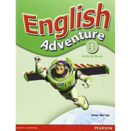 English Adventure 1 Activity Book Pearson 9780582791633