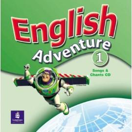 English Adventure 1 Songs & Chants CD