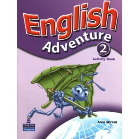 English Adventure 2 Activity Book Pearson 9780582791749