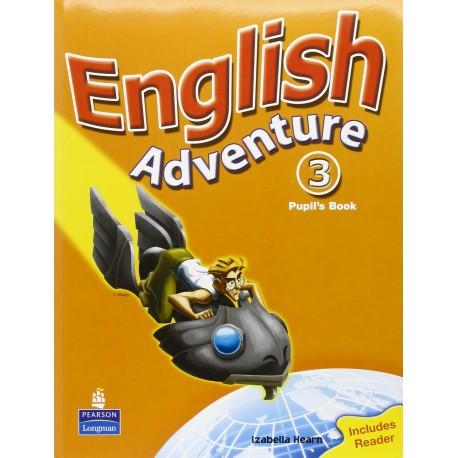 English Adventure 3 Pupil's Book (Plus Reader) Pearson 9780582791879