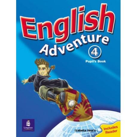 English Adventure 4 Pupil's Book (Plus Reader) Pearson 9780582791978