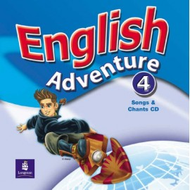 English Adventure 4 Songs & Chants CD