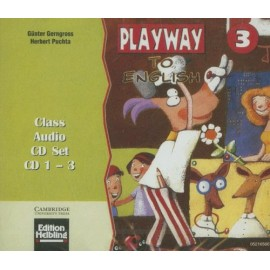 Playway To English 3 Class Audio CDs
