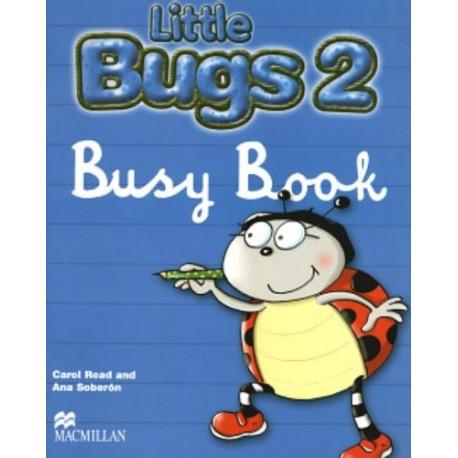 Little Bugs 2 Busy Book Macmillan 9781405061605