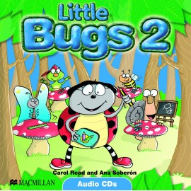Little Bugs 2 Class Audio CDs