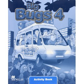 Big Bugs 4 Activity Book