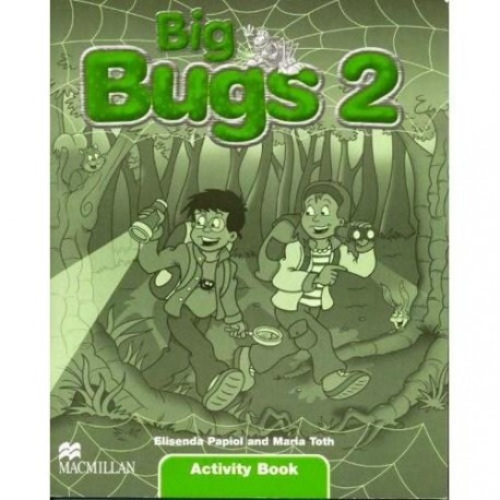 Big Bugs 2 Activity Book Macmillan 9781405061803