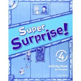 Super Surprise! 4 Activity Book + MultiROM