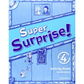 Super Surprise! 4 Activity Book + MultiROM