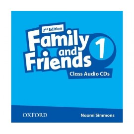 Family and Friends 1 Second Edition Class Audio CDs