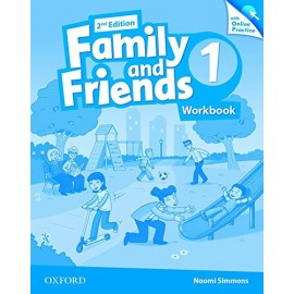 Family and Friends 1 Second Edition Workbook with Online Skills Practice