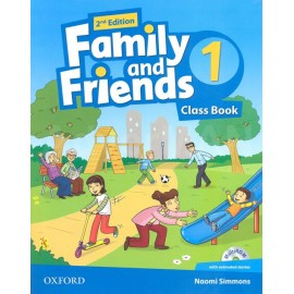 Family and Friends 1 Second Edition Class Book + MultiROM