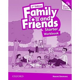 Family and Friends Starter Second Edition Workbook with Online Skills Practice