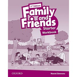 Family and Friends Starter Second Edition Workbook