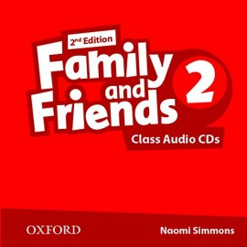 Family and Friends 2 Second Edition Class Audio CDs