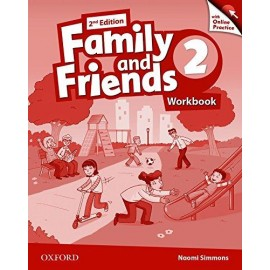 Family and Friends 2 Second Edition Workbook with Online Skills Practice