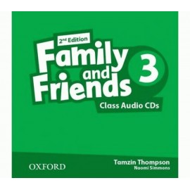 Family and Friends 3 Second Edition Class Audio CDs