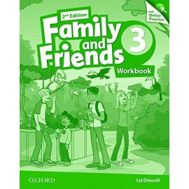 Family and Friends 3 Second Edition Workbook with Online Skills Practice