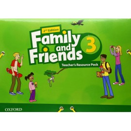 Family and Friends 3 Second Edition Teacher's Resource Pack