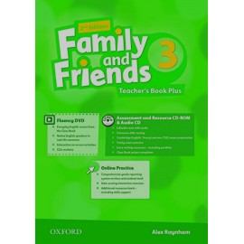 Family and Friends 3 Second Edition Teacher's Book + DVD + MultiROM