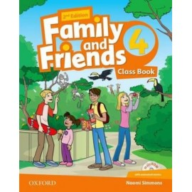 Family and Friends 4 Second Edition Class Book + MultiROM