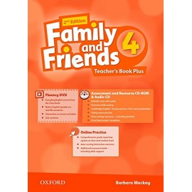 Family and Friends 4 Second Edition Teacher's Book + DVD + MutiROM